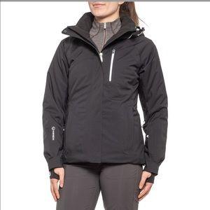 Sunice Insulated Black Mirage Ski Jacket